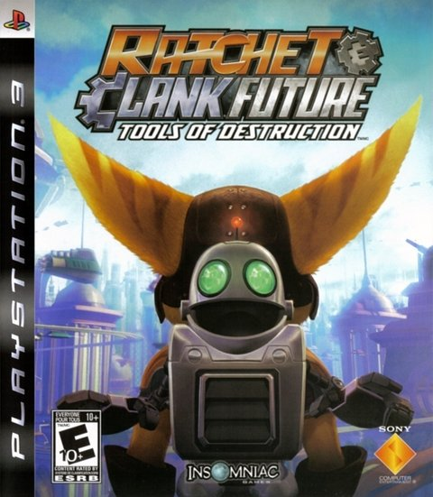 Ratchet Clank Future Tools Of Destruction - Ps3