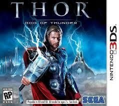 Thor God of Thunder (sem caixinha) - 3ds