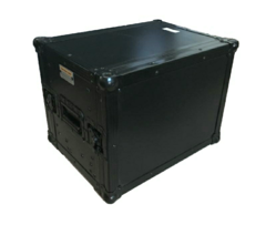 Flight Case Rack Para Monitor ate 21 Pol. + 4u + Gaveta black - comprar online