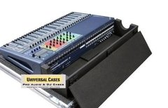 Road Case Para Soundcraft Si Expression 3 Com Cablebox - comprar online