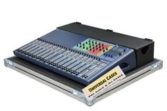 Road Case Para Soundcraft Si Expression 3 Com Cablebox