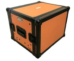 Flight Case Rack 6u + Gaveta Laranja Black - comprar online