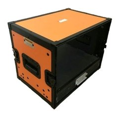 Flight Case Rack 6u + Gaveta Laranja Black na internet