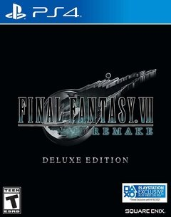 Final Fantasy VII Remake Deluxe Edition - Playstation 4