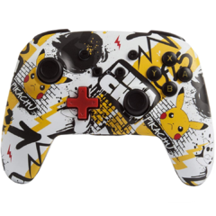 Joystick Inalambrico Pikachu Graffiti (PowerA) - Nintendo Switch
