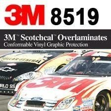 3M(TM) Scotchcal(TM) Luster Overlaminate 8519