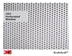 IJ67 PERFORATED WINDOWS FILM