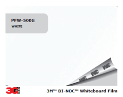 3M(TM) Whiteboard PWF-500MG