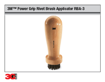 Power Grip Rivet Brush Applicator RBA-3