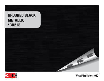 1080-BR212 BRUSHED BLACK METALLIC - comprar online