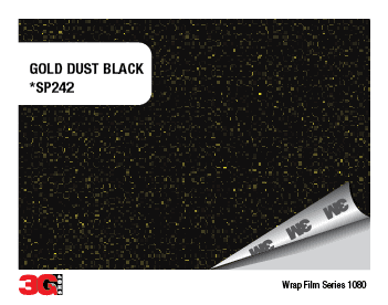 1080-SP242 GOLD DUST BLACK - comprar online