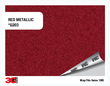 1080-G203 RED METALLIC - comprar online