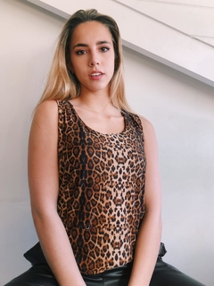 Musculosa Animal SATINADA
