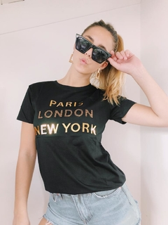 Remera NEW YORK - Vintage