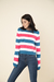 Sweater rayado - scombro