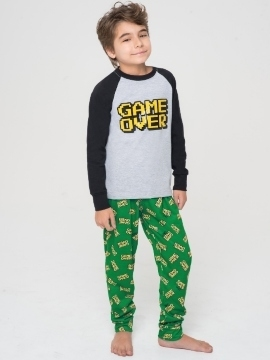 Pijama Nene Algodon Jersey Game Over