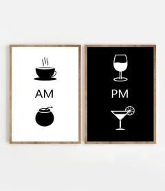 SET AM: CAFÉ & MATE / PM: VINO & TRAGO