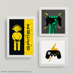 quadros decorativos gamers