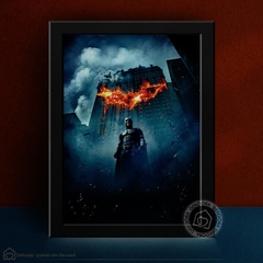 Batman The Dark Knight - Quadro Decorativo - comprar online