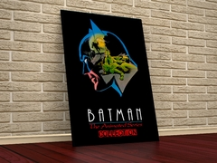 Série Animada Batman DC - Placa Decorativa