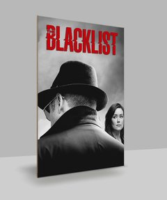 Placa Decorativa Séries - Blacklist