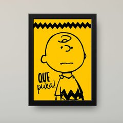 "Charlie Brown ""Snoopy"" - Poster Decorativo"