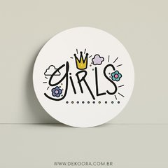 Girls #1 - Quadro Placa
