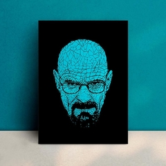 Breaking Bad Heisenberg - Placa Decorativa