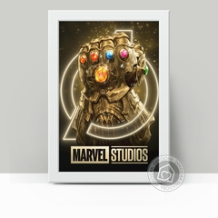 Manopla Thanos - Quadro Decorativo