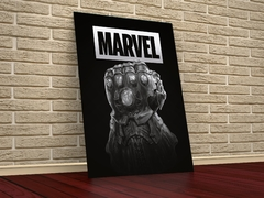 Manopla Thanos Vingadores - Placa Decorativa