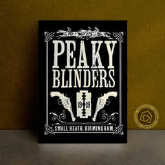 Série Peaky Blinders - Placa Decorativa