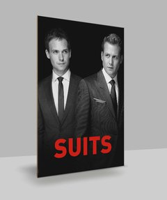 Placa Decorativa Séries - Suits