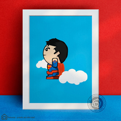 Quadro Decorativo Superman Kids