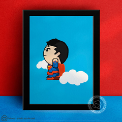 Quadro Decorativo Superman Kids - comprar online