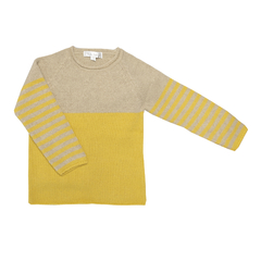 Sweater Ray beige/curry