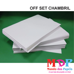 PAPEL OFFSET CHAMBRIL 75G A4 100 FLS