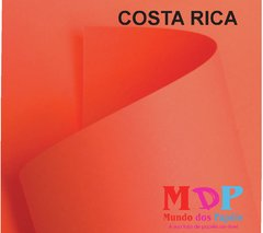 Papel Color Plus Costa Rica - Salmão  180G A4 10 fls