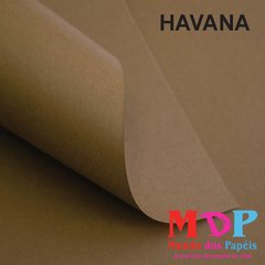 Papel Color Plus Havana - Marrom  180G A4 10 fls