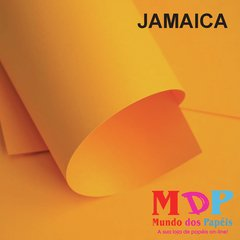 Papel Color Plus Jamaica - Laranja  180G A4 10 fls