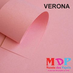 Papel Color Plus Verona - Rosa 180G A4 10 fls