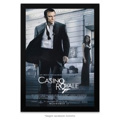 Poster 007 Cassino Royale