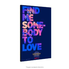 Poster Bohemian Rhapsody - Somebody to love na internet