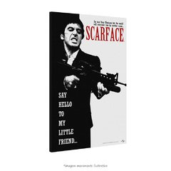 Poster Scarface - Say Hello to My Little Friend na internet