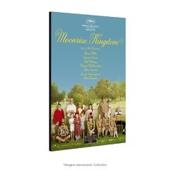 Poster Moonrise Kingdom na internet