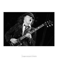 Poster Angus Young - QueroPosters.com
