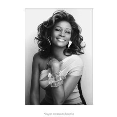 Poster Whitney Houston - QueroPosters.com