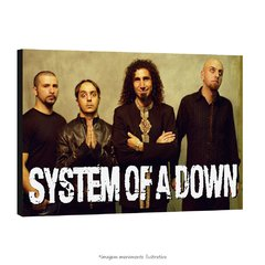 Poster System of a Down na internet