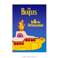 Poster The Beatles - Yellow Submarine - QueroPosters.com