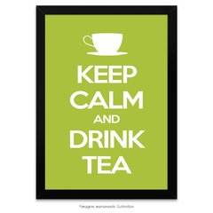 Poster Keep Calm and Drink Tea