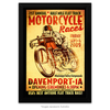 Poster 21st Annual 2009 Davenport Motorcycle Races